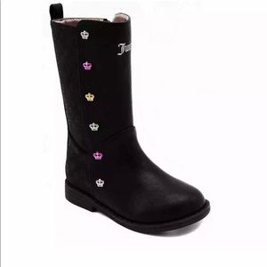 Juicy Couture Kids JC Pasadena Tall Boots 5 new